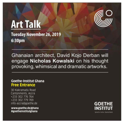 Artist Talk with Nicholas Kowalski